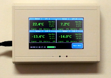 The ThermaViewer temperature monitoring system